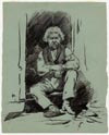 Image: French Acadian Sitting In Doorway