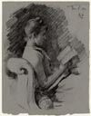 Image: Profile View Of Bessie Reading