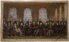 Image: Oil Study For Repainting The Fathers Of Confederation, 1916