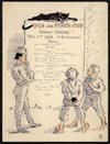 Image: Pen And Pencil Club Annual Festival Menu, May 2, 1896