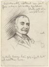 Image: Sketch For Portrait Of Gentleman