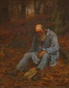 Image: Peasant Taking A Rest