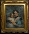 Image: Mrs. H. S. Birkett and her Daughter Winifred
