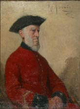 Image of painting : Old Chelsea Pensioner