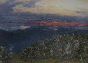 Image of painting : Sunset, Glenmore